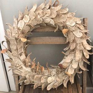 Farmhouse woods wreath